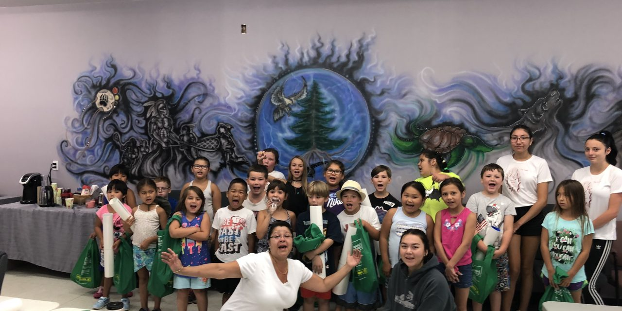 junior and senior crime prevention day camp – This land is our land